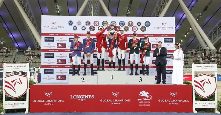 Eindwinst Longines Global Champions League